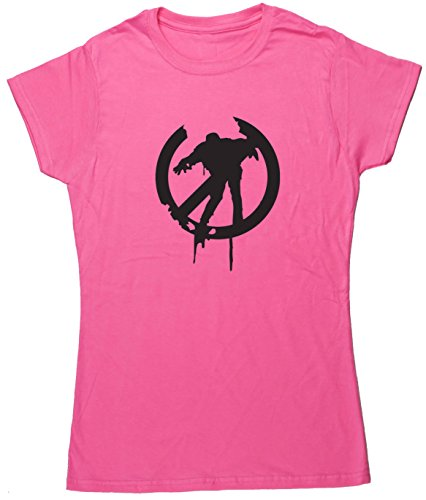 HippoWarehouse Damen T-Shirt Rosa - Pink