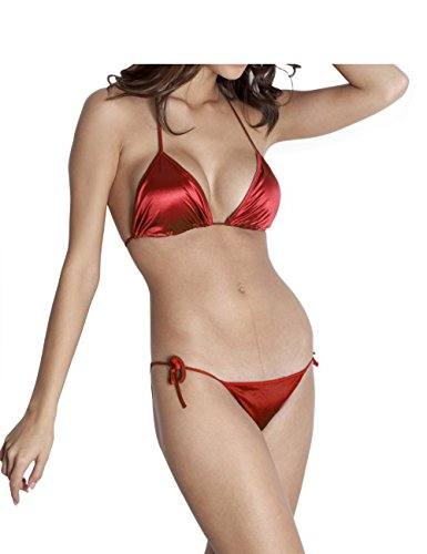 You Forever Solid Maroon Lingerie Sets