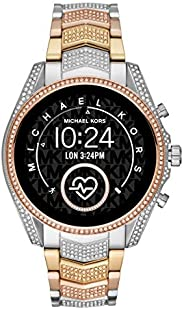 Michael Kors Gen 5 Bradshaw Women's Multicolor Dial Stainless Steel Digital Smartwatch - MKT