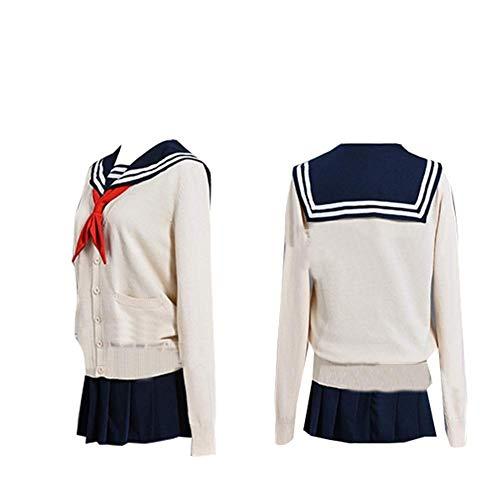 I TRUE ME Boku No Hero Academia Mein Held Academia Himiko Toga Cosplay Kostüm mit Perücke Ganzanzug japanisch JK Uniform für - Damen Toga Der Für Erwachsenen Kostüm