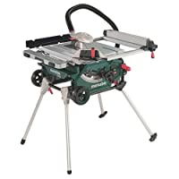 Metabo TS216 240 V Table Saw with Base Frame/Trolley