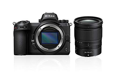 Nikon Z6 System Digitalkamera Kit 24-70 mm 1:4 S