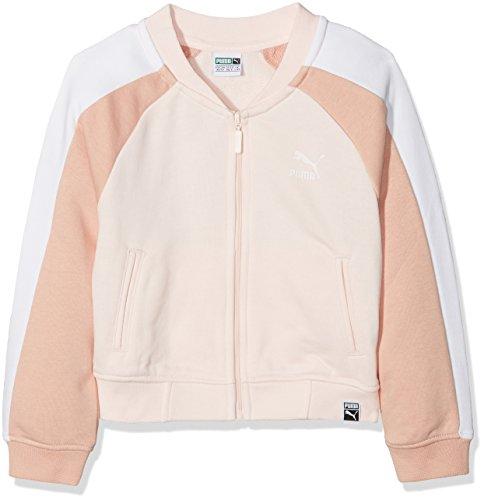 Puma Kinder Classics T7 FZ Joggingjacke, Pearl, 152 - Pearl Mädchen Jacke