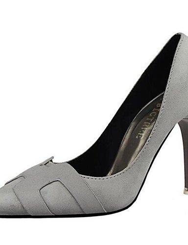 WSS 2016 Chaussures Femme-Habillé / Soirée & Evénement-Rose / Rouge / Gris / Orange-Talon Aiguille-Talons-Talons-Synthétique red-us4-4.5 / eu34 / uk2-2.5 / cn33