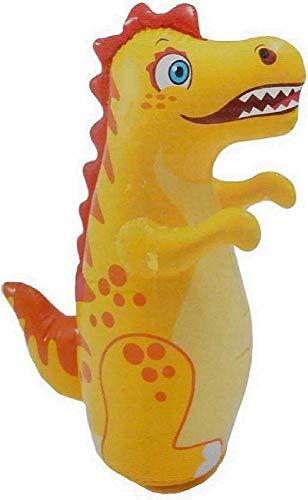 Amazia Crocodile Shape Inflatable 3-D Punching Hit Me Bop Punching Bag for Kids (Multicolor)
