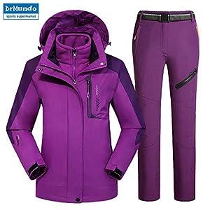 Zjsjacket Skianzug Outdoor Moutain Frauen Wasserdichtes Skifahren Skibekleidung Anzüge Snowboardjacke Skianzug Große Größe Schneejacken Plus Größe