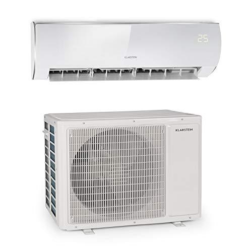 Klarstein Windwaker Eco Split-Klimaanlage • 24.000 BTU/h (7032 Watt) • Luftstrom: 1.250 m³/h • Heiz- und Kühlgerät • selbstreinigend • Energieeffizienzklassen: A++/A+ • 5 Betriebsmodi • 3 Schlafmodi