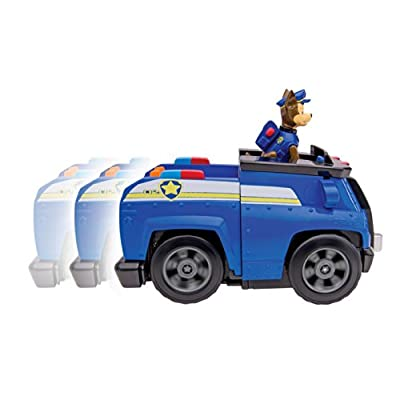 Nickelodeon, Paw Patrol - Chase's Deluxe Cruiser por ToyCentre