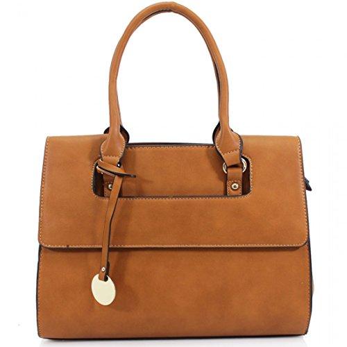 Damen 'Michael Kors' Style Designer Handtasche-Damen City Tasche braun