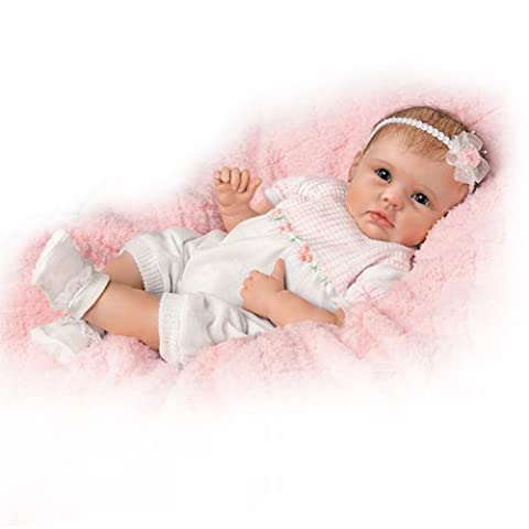 Olivias zarte Berührung - lebensechte Babypuppe Künstlerpuppe
