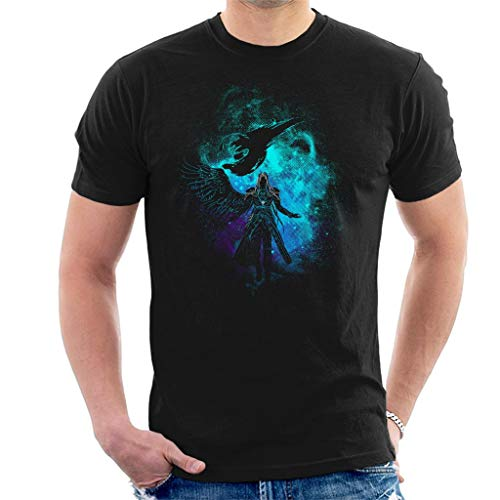 Cloud City 7 Sephiroth Silhouette Final Fantasy VII Men's T-Shirt