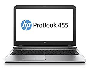 "HP ProBook 455 G3 Ordinateur portable 15"" (38,1 cm) Gris aluminium (AMD, 4 Go de RAM, 500 Go, Radeon, Windows 10)"