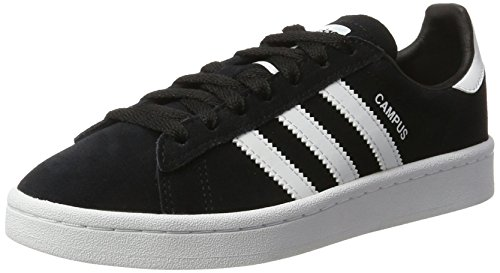 best website f4f5d 4cbf9 Adidas Campus J By9580, Zapatillas Unisex Niños, Negro (Core Black Footwear  White 0