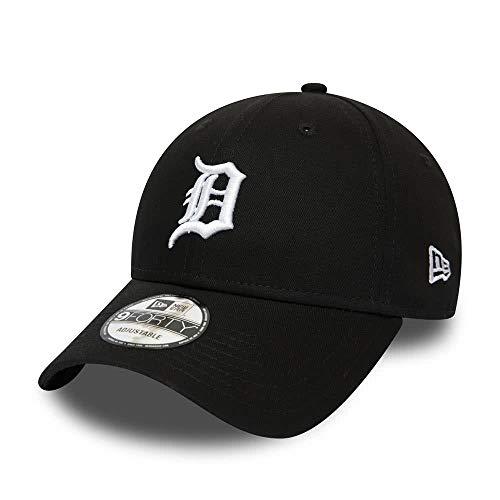 New Era League Essential 9Forty Adjustable Cap Detroit Tigers Schwarz, Size:ONE Size