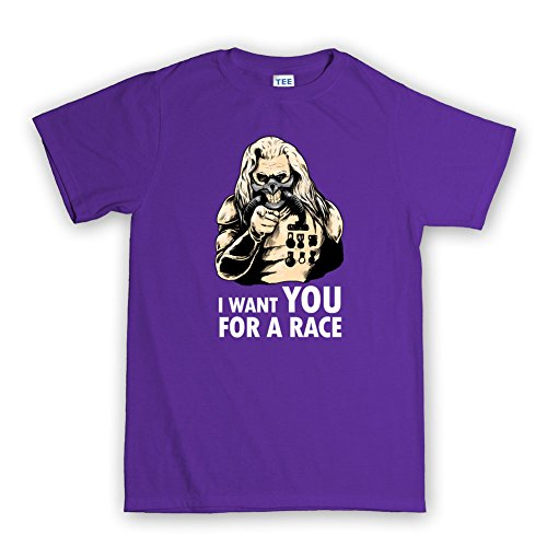 I Want YOU For A Mad Race T-shirt Violett