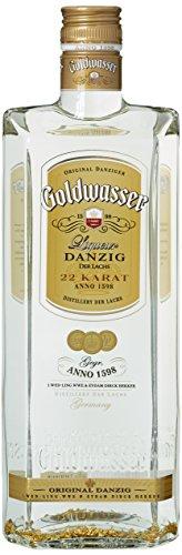 Original Danziger Goldwasser - Liquer mit Blattgold - 0,7 Liter Ge-splitter