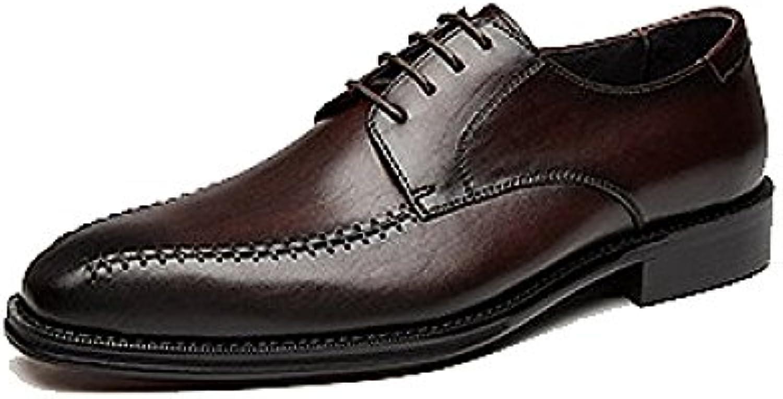 YCGCM Zapatos De Vestir De Los Hombres Trabajo Zapatos De Boda Comodidad Pies Moda Negocios Transpirable Ligero -