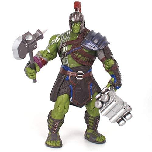 dell Charaktere Souvenir Sammeln Ornament, Superheld Spielzeug Skulptur Hulk PVC Puppe Puppe Handliche Modell Handwerk Puppe Statue Dekoration 20 cm ()