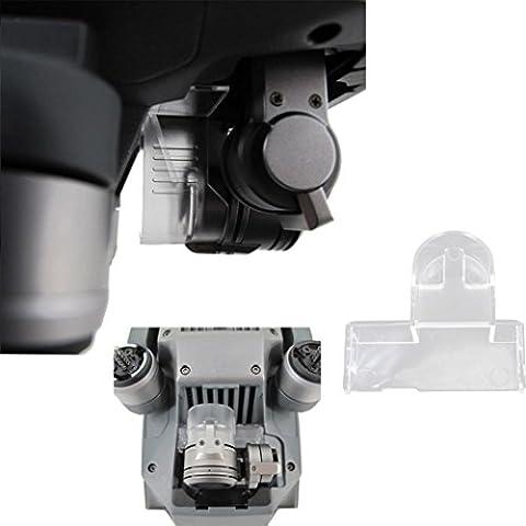 Bluester New Gimbal Lock Clamp Camera Cover Protector PTZ Holder for DJI Mavic Pro Drone (Gray)
