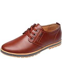 POachers Zapatos de Cordones Hombre Zapatos de Hombre Ocasionales de Negocios Zapatos de holgazán