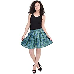 Rajpari Women's Cotton Printed Skirt