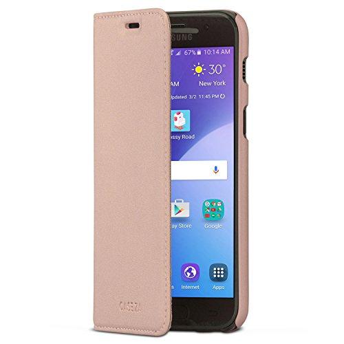 Smartphone-Flip-Case-CASEZA-Oslo-Ultra-Schlanke-PU-Lederhlle-Ledertasche-Leder-Hlle-Edles-Kunstleder-Cover-mit-Magnetverschluss