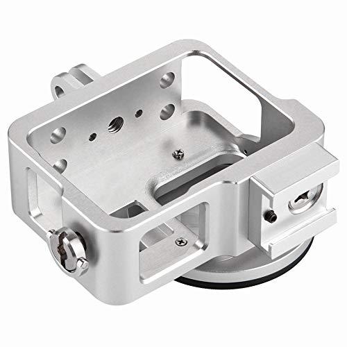 Preisvergleich Produktbild Puluz Hero7 Hero6 Aluminium Rahmenschutz Metall Black Dog 5 Zubehör Silber