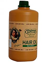 Shahnaz Husain Professional Power Hair Oil 500ml with Ayur Product in Combo