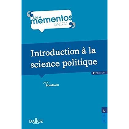 Introduction à la science politique - 11e éd.