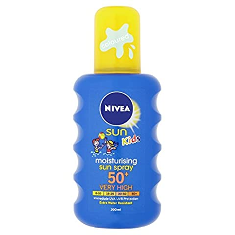 Nivea Sun Kids Moisturising Sun Spray Very High SPF 50+ - 200 ml
