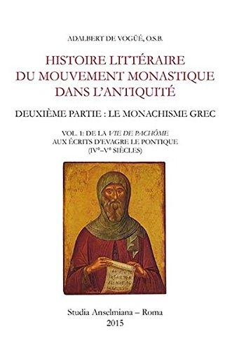 Histoire littéraire du mouvement monastique dans ...