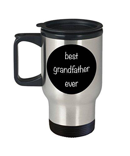 EstherBur87 Bestes Großvater-überhaupt Reise-Bechergeschenk für Großvatergeschenk für Großvaterreisebecheredelstahl 14 Unze - 5 Unze-körper-milch