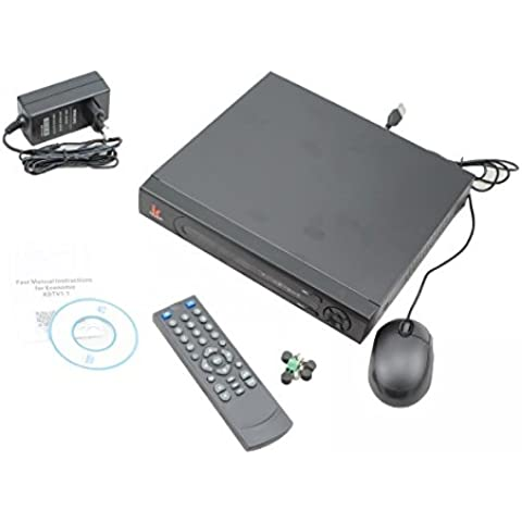 DVR 4 Canali Tribrido AHD / IP / ANALOGICO 1080P