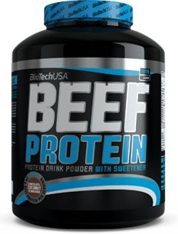 BioTech USA Beef Protein, Strawberry, 1er Pack (1 x 1816 kg) (Beef Protein)