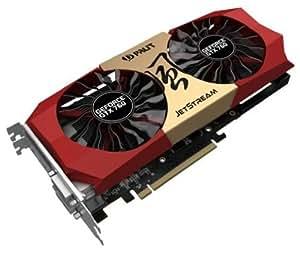 Palit Nvidia GeForce GTX 760 Jetstream Graphics Card (4GB GDDR5, PCI Express 3.0, HDMI, DVI-I, DVI-D, Display Port, 256-Bit, NVIDIA CUDA Technology)