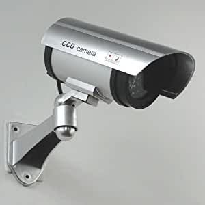 loywe wasserdichte berwachungskamera kamera attrappe professional mit blinkender led licht. Black Bedroom Furniture Sets. Home Design Ideas