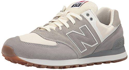 New Balance Herren Ml574 Sneakers Steel/Silver Mink