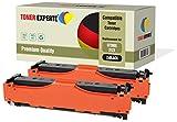 Kit 2 TONER EXPERTE® CF380X 312X Nero Toner compatibili per HP Colour LaserJet Pro MFP M476DN, M476DW, M476NW