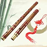 SLB Works Brand New Chinese Bamboo Handmade Flute D Key Dizi Musical Instruments - Best Reviews Guide