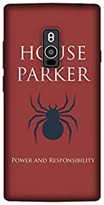 The Racoon Lean Parker Sigil Red hard plastic printed back case / cover for OnePlus 2
