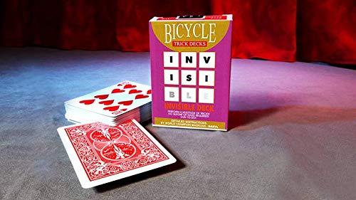 Invisible Deck Original Kartentrick - Das unsichtbare Kartenspiel - Original Bicycle Karten (mit Anleitung)