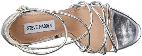 Steve Madden , Chaussures de sport d'extérieur pour femme noir noir 37 EU Argent