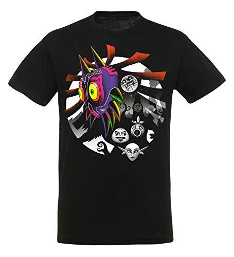 yvolve - Fall of The Moon - T-Shirt | Gaming | Merchandising Fan-Artikel, Größe:L -