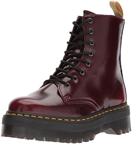 Dr. Martens 2976 Chelsea Boot Vegan Cherry Red Cambridge pennello rosso bordeaux 21.802.600, Dr. Martens Schuhe Damen:38