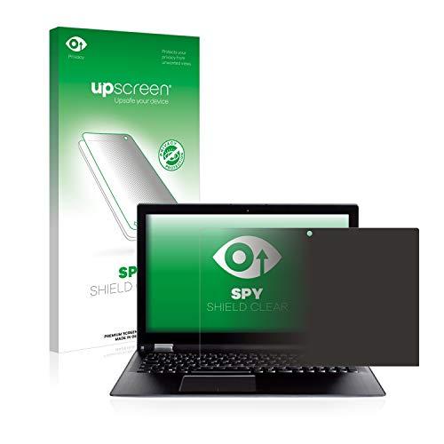 upscreen Anti-Spy Blickschutzfolie kompatibel mit Wortmann Terra Mobile 360-15 Privacy Screen Displayschutzfolie - Sichtschutz, Kratzfest Mobile Privacy Screen