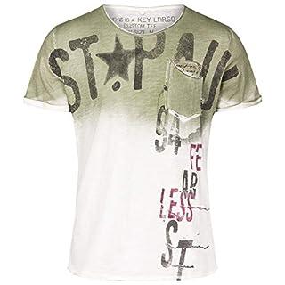 Key Largo Herren Shirt MT ACHI Round dunkelgrün M