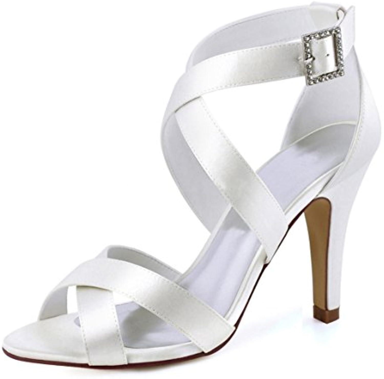 minitoo mesdames boucle la robe de de de mariée de synthèse à la cheville en satin blanc sandales uk 6 b07bbq3hd3 parent   Shop  7f7e75