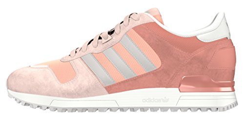 adidas Damen ZX 700 Sneakers, Pink (Vapour Pink /Clear Granite/Raw Pink), 38 EU