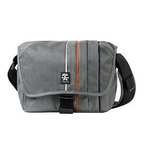 Crumpler Jackpack 3000 JP3000-005 boîtier d'appareil photo numérique reflex d'entrée de gamme avec objectif de petite taille + objectif de taille moyenne Gris noir / Orange
