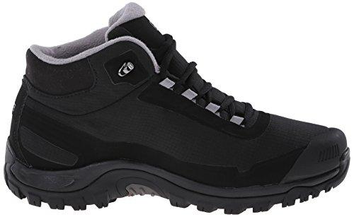 Salomon L37281100, Chaussures de Randonnée Hautes Homme Noir (Black)